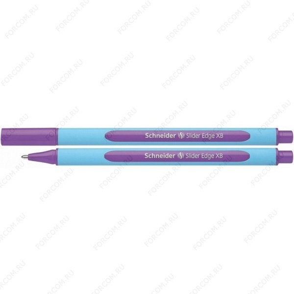 Ручка шариковая Schneider Slider Edge XB, 1,0 мм, фиолетовая (152208)
