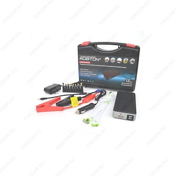 ROBITON Emergency Power Set с функцией экстренного запуска двигателя Универсальный внешний аккумулятор