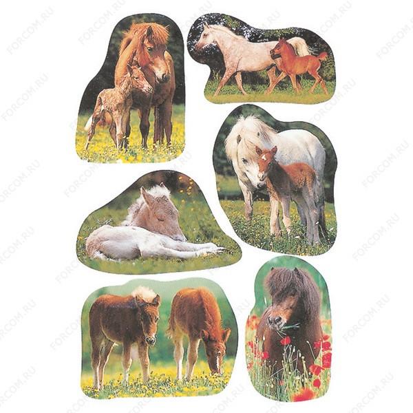 HERMA 5443 Decor Наклейки Лошади на природе (фото)