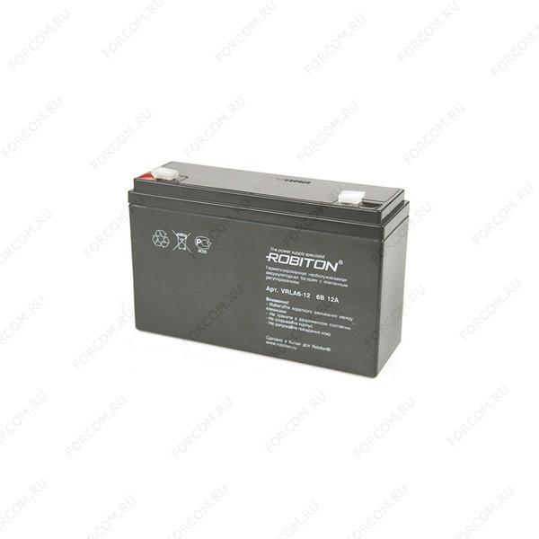 ROBITON VRLA6-12 Аккумулятор