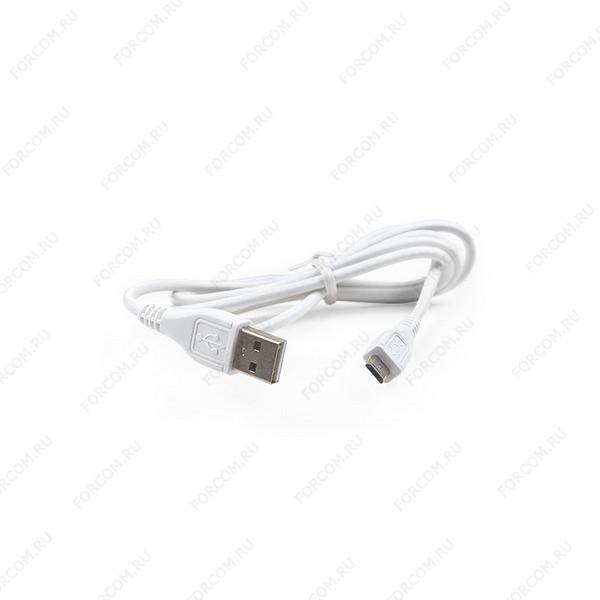 Кабель USB A - Micro USB 1.0 м ROBITON P1 белый
