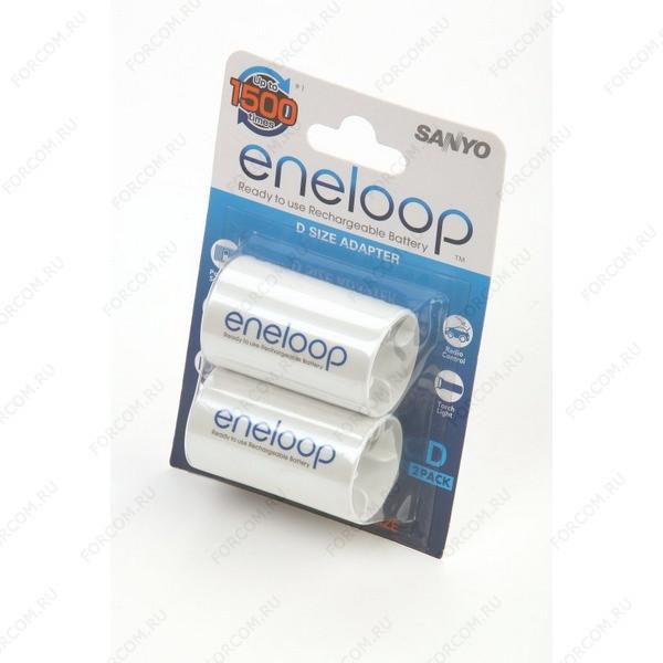 SANYO eneloop AD-D-2BP ENELOOP BL2 Адаптер для аккумуляторов