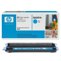 HP Q6001A Картридж №124A голубой HP Color LaserJet 1600/2600/CM1015mfp (2K)