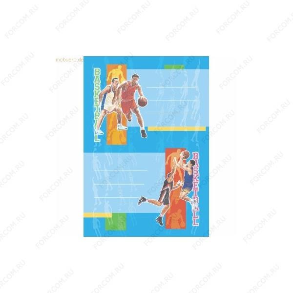HERMA 5777 Vario Наклейки Для тетрадей Баскетбол