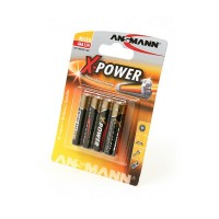 ANSMANN X-POWER 5015653 LR03 BL4 Элемент питания