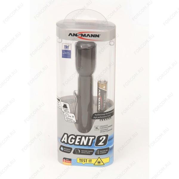ANSMANN 1600-0035 Agent 2 CREE LED 3W 2AA BL1 Фонарь