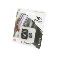 Носитель информации KINGSTON CANVAS Select Plus microSD 32GB (Class 10)  A1 (100 Mb/s) с адаптером BL1