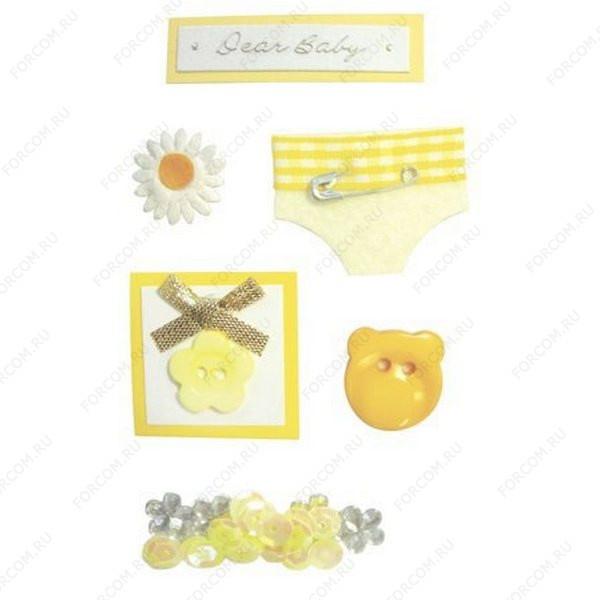 HERMA 3121 Наклейки детские/декоративные CREATIVE 3D ОБНОВКА ДЛЯ МАЛЫША