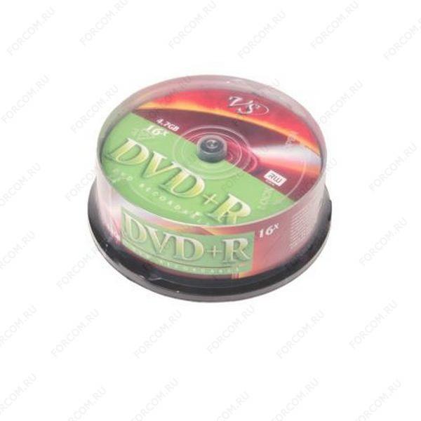 VS DVD+R 4.7 GB 16x CB/25 Записываемый компакт-диск