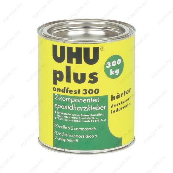 UHU 45556/45666 Plus Endfest 300 Клей UHU Плюс Эндфест 300 Эпоксидный двухкомпонентный сверхпрочный клей (отвердитель) 750 гр.