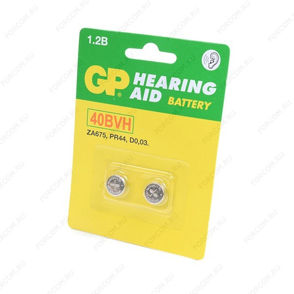 GP Hearing Aid 40BVH-CR2 BL2 Аккумулятор