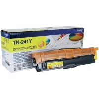 Brother TN241Y Тонер TN-241Y для Brother HL3140CW/3170СDW/DCP9020CDW/MFC9330CDW жёлтый (1400стр)