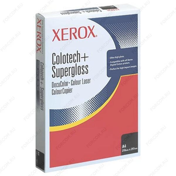 Xerox 003R97688 Бумага XEROX Colotech Supergloss, 250г, SR A3 (450X320мм), 100 листов (в кор. 6 пач.)